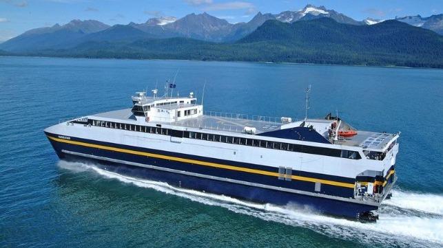 Alaska sells fast ferries to Spain at a loss