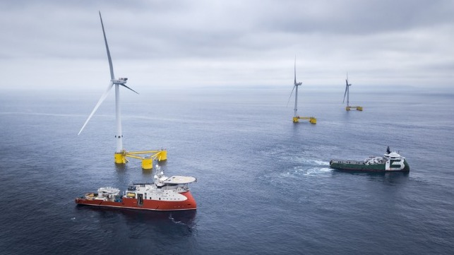 floating offshore wind farm receives ABS class