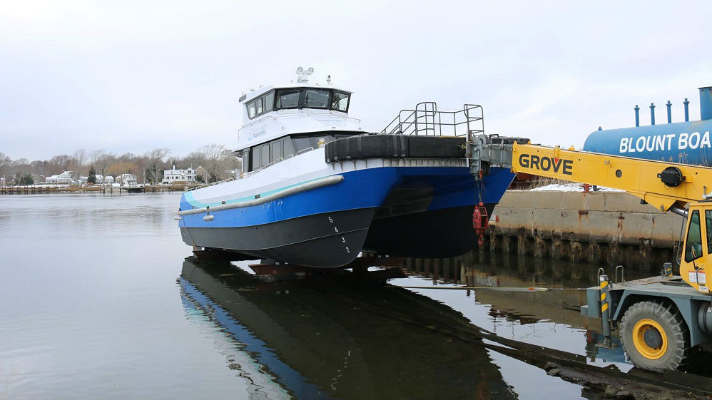 First U S Offshore Wind Crew Boat Hits The Water