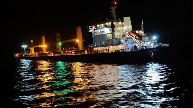 bulkers collide off Turkey