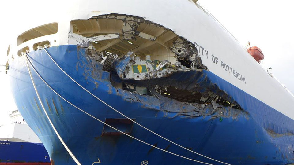 Pilot And Captain Sentenced For Car Carrier Collision