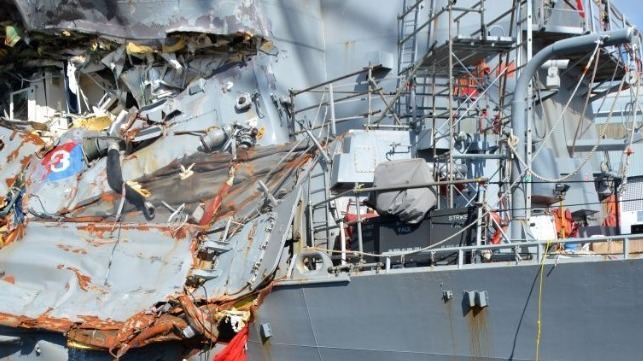 USS Fitzgerald Officer of the Deck Pleads Guilty