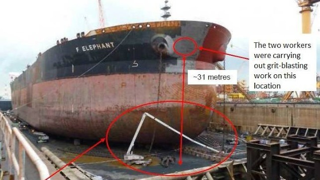 Singapore Fines Jurong Shipyard for Fatal Accident