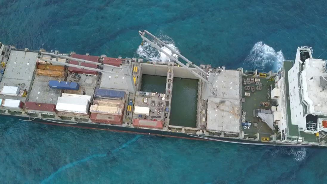 More Work Ahead for Kea Trader Salvage