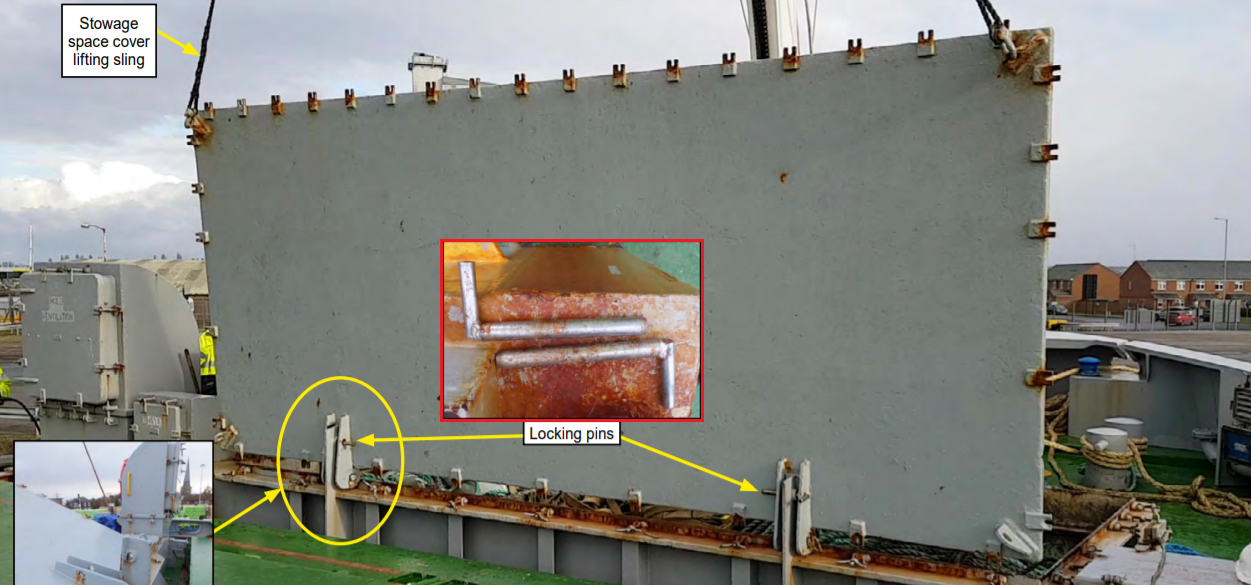 MAIB: Unsecured Hatch Cover Killed AB