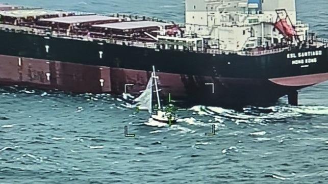 hatteras rescue sailboat
