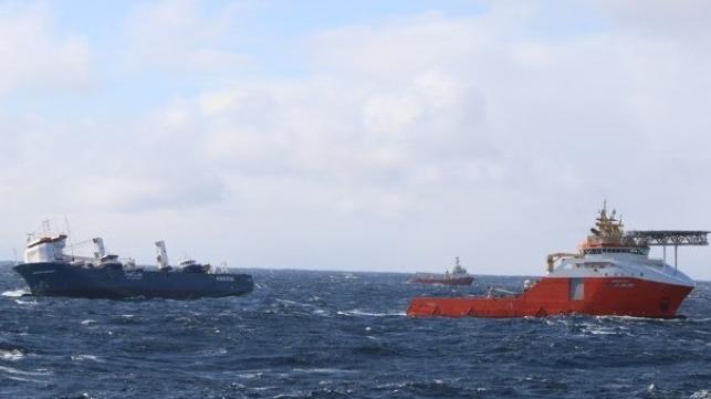 Emergency Action Secures Heavy-Lift Vessel as it Nears Norwegian Coast
