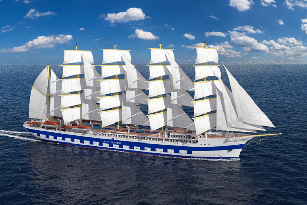world s largest sailing ship launched