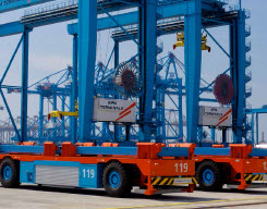 APM Opens Most Advanced Container Terminal