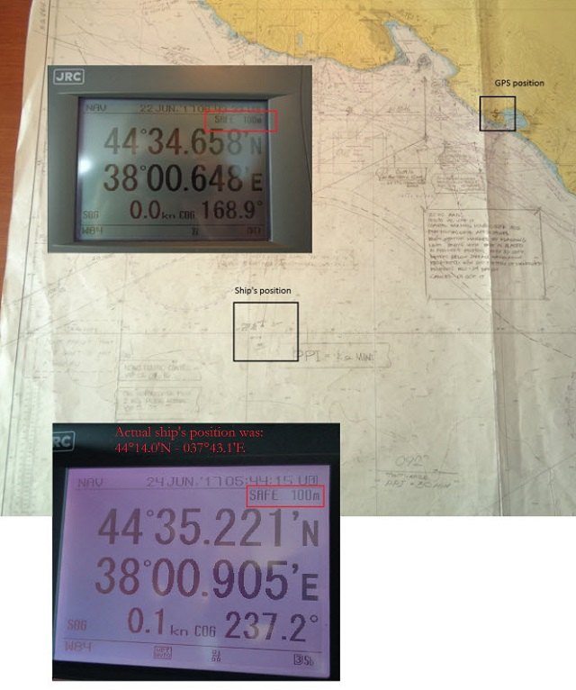 Mass GPS Spoofing Attack in Black Sea?