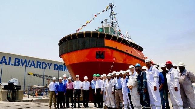 Damen ASD Tug 2913 for Saqr Port