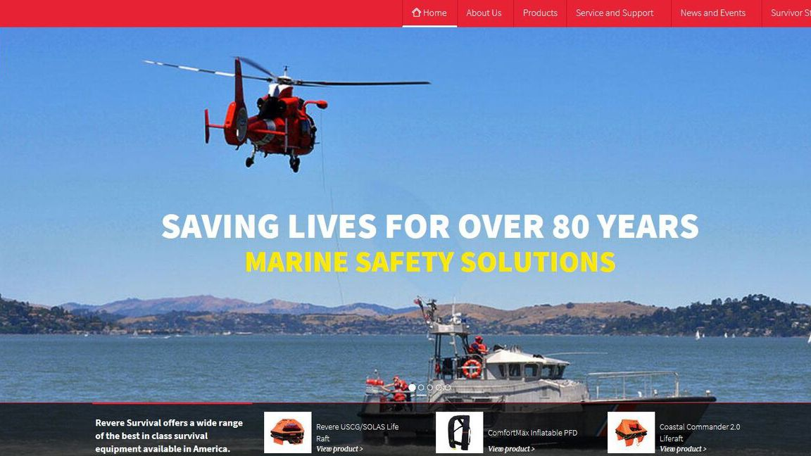 Revere Survival Launches New Website to Reflect Company and