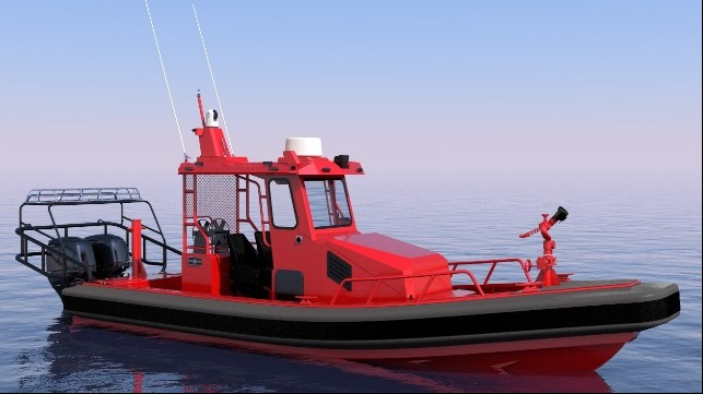 Silver Ships, Inc. Debuts Demonstration Fire and Rescue Boat