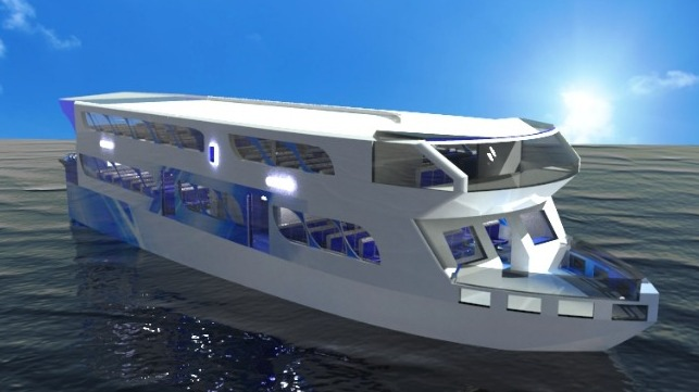 Students From Singapore and Indonesia Win Safe Ferry Design Contest