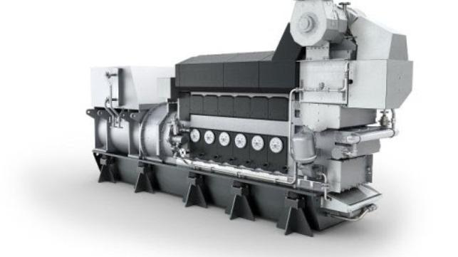 The MAN L21/31 engine